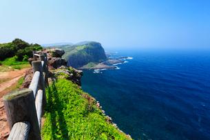 生月島の大バエ断崖の写真素材 [FYI02081016]