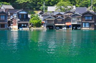丹後半島 伊根の舟屋の写真素材 [FYI02081021]