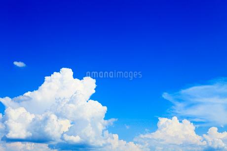 夏空と雲の写真素材 [FYI02081159]
