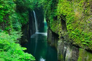 高千穂峡 真名井の滝の写真素材 [FYI02081368]