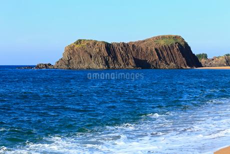 丹後半島の立岩の写真素材 [FYI02081652]