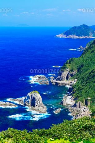 丹後半島 経ヶ岬の海岸の写真素材 [FYI02081671]
