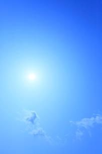 太陽と雲の写真素材 [FYI02081819]
