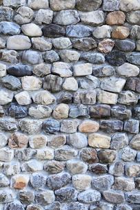 石積み塀の写真素材 [FYI02082198]