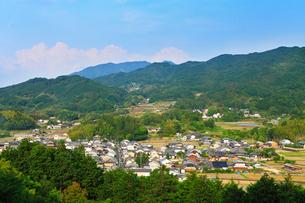 甘樫丘より明日香村を望むの写真素材 [FYI02082231]
