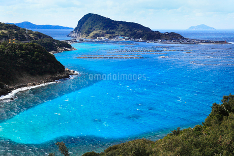 柏島と海の写真素材 [FYI02082608]