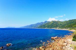 大隅半島から望む鹿児島湾の写真素材 [FYI02083134]