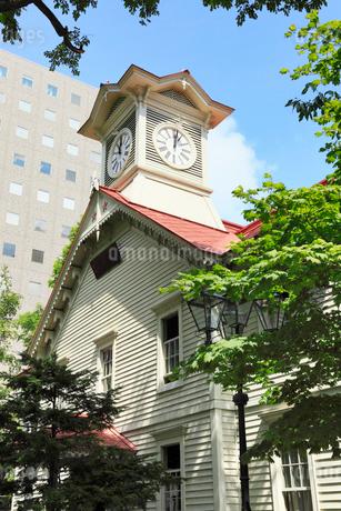 札幌時計台の写真素材 [FYI02083655]