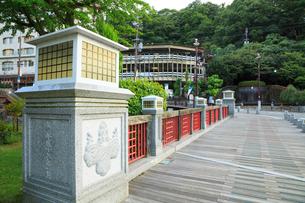 有馬温泉 太閤橋の写真素材 [FYI02084452]