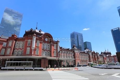東京駅の写真素材 [FYI02084625]