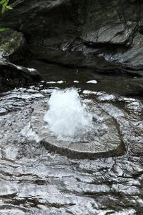 うちぬきの湧水の写真素材 [FYI02084881]