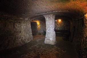 カッパドキヤ デリンクユの地下都市の写真素材 [FYI02084983]