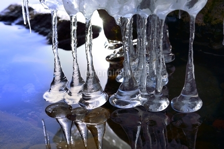 氷の造形の写真素材 [FYI02085171]