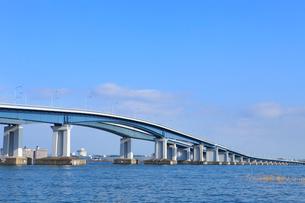 琵琶湖大橋の写真素材 [FYI02085200]