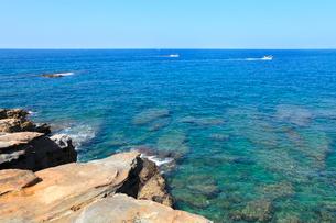 南紀の海の写真素材 [FYI02085532]
