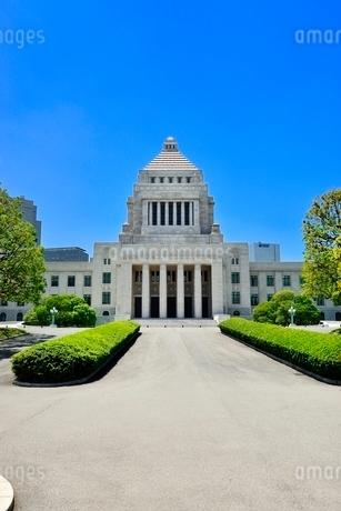 国会議事堂の写真素材 [FYI02085623]