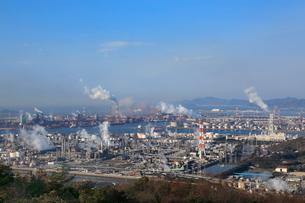 水島臨海工業地帯の写真素材 [FYI02085898]