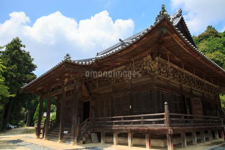 増位山随願寺の本堂の写真素材 [FYI02085928]