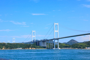 来島海峡大橋の写真素材 [FYI02085974]