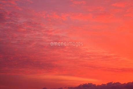 朝焼けの空の写真素材 [FYI02086098]