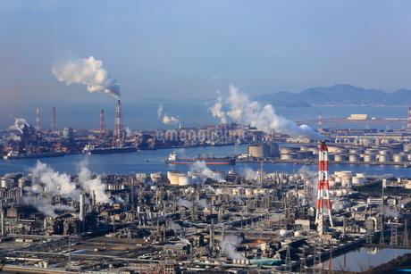 水島臨海工業地帯の写真素材 [FYI02086267]