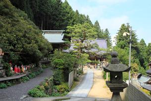 四国霊場第60番札所 横峰寺の写真素材 [FYI02086333]
