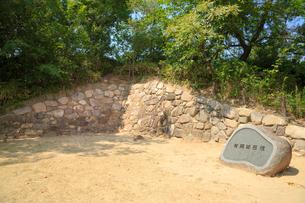 有岡城跡の石垣の写真素材 [FYI02086335]