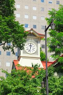 札幌時計台の写真素材 [FYI02086338]