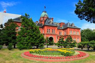 北海道庁旧本庁舎(赤れんが庁舎)の写真素材 [FYI02087192]