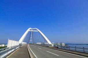 志摩パールブリッジと英虞湾の写真素材 [FYI02087497]
