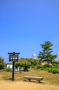 安乗岬 安乗埼灯台と園地の写真素材 [FYI02088025]