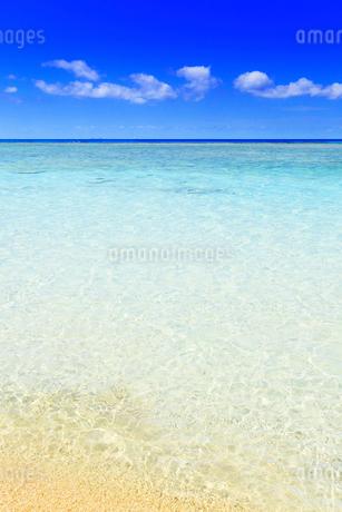 沖縄波照間島 ニシ浜と海の写真素材 [FYI02088156]
