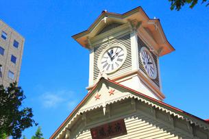 札幌市時計台の写真素材 [FYI02088958]