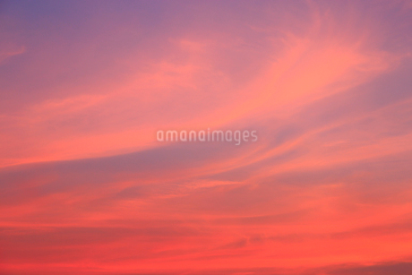 夕焼け空の写真素材 [FYI02088965]