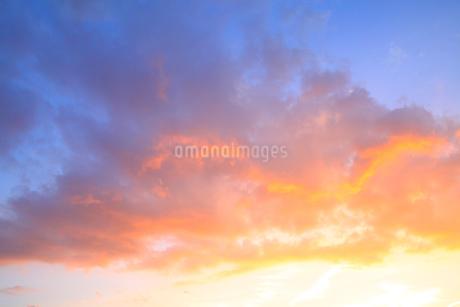 夕焼け空の写真素材 [FYI02089012]