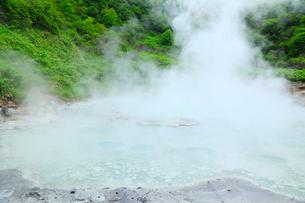 登別温泉・奥の湯の写真素材 [FYI02089139]