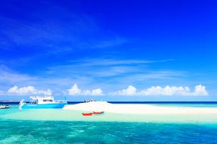 沖縄西表島 バラス島と海の写真素材 [FYI02089199]