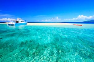 沖縄西表島 バラス島と海の写真素材 [FYI02089329]