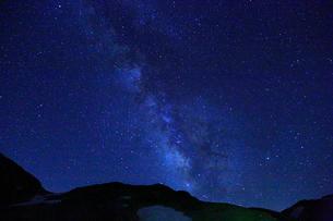 立山黒部・室堂平 天の川 の写真素材 [FYI02089416]