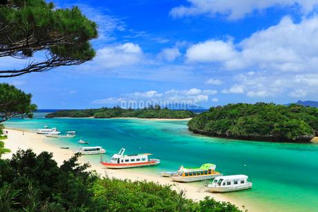 沖縄石垣島 川平湾と海の写真素材 [FYI02089691]