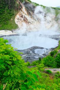 登別温泉・大湯沼の写真素材 [FYI02089946]