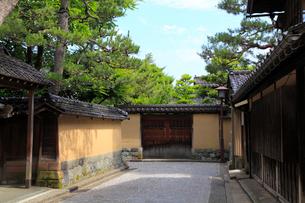 金沢・長町武家屋敷跡の写真素材 [FYI02089983]