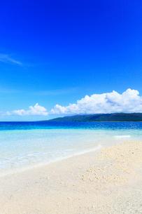 沖縄西表島 バラス島と海の写真素材 [FYI02090021]