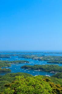 新緑の横山展望台から望む英虞湾の写真素材 [FYI02090029]