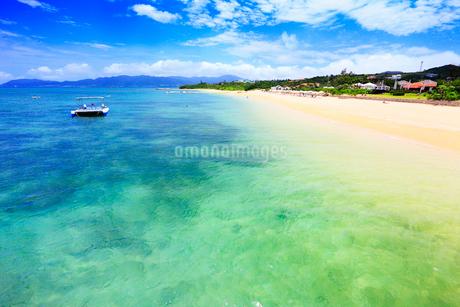沖縄石垣島 フサキビーチの海の写真素材 [FYI02090039]