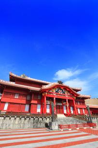 沖縄本島 首里城正殿の写真素材 [FYI02090153]