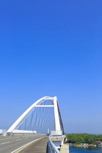 志摩パールブリッジと英虞湾の写真素材 [FYI02090199]