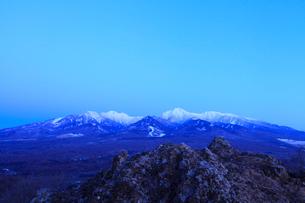 野辺山高原 獅子岩より望む八ヶ岳の写真素材 [FYI02090210]