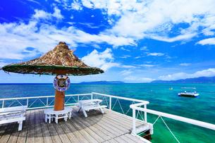 沖縄石垣島 フサキビーチの海の写真素材 [FYI02090348]