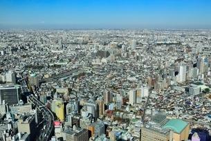 サンシャイン60より東京の街並みの写真素材 [FYI02090765]